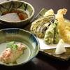 だるまオリジナル蒸し寿司・天ぷら盛合せ